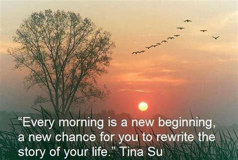Wallpaper With Quote By Tina Su  Every Morning Is A New Beginning   Dont Give Up World