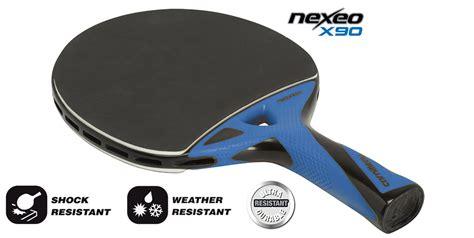 raquette de ping pong nexeo x90 carbon cornilleau