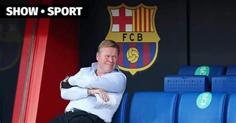 Kuman kann nicht auf der Barça-Bank sitzen. Alle, weil der ...