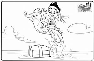 Coloring Pages For Captain Jake And The Neverland Pirates ...