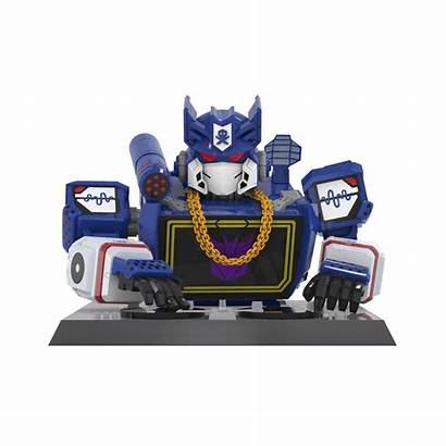 Soundwave Transformers Quiccs Bust Licensed Seibertron Vinyl