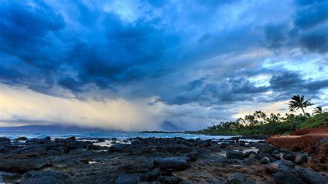 Blue Clouds Over Tropical Beach 4k Ultra Hd Wallpaper