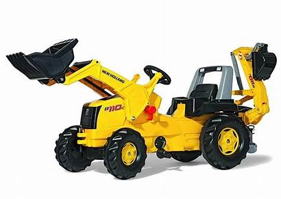 Digger Backhoe Holland Ride Toy Construction Toys
