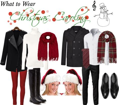 what to wear christmas caroling outfits