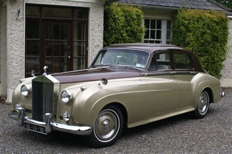 Classic 1960's Rolls Royce Wedding Car