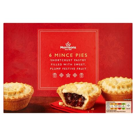 morrisons mince pies   pack  vegan supermarket