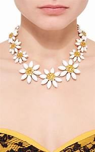 Lyst - Dolce & Gabbana Daisy Necklace in Yellow