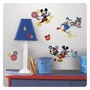 mickey mouse wall decals 2017 grasscloth wallpaper With mickey mouse clubhouse wall decals
