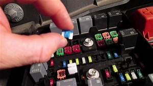 How To Check Horn Relay And Fuse Chevy Traverse 2009