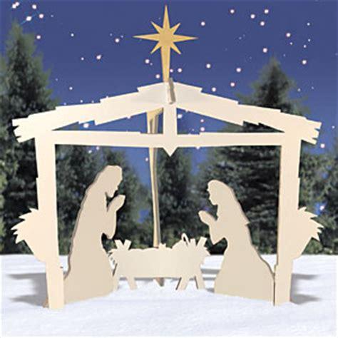 djun  nativity scene woodworking plans