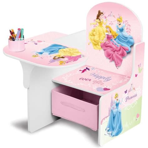 bureau princesse delta children disney princesses pupitre enfant