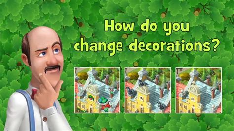Chagne Decoration Ideas - how do you change decorations