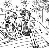 Dork Diaries Coloring Pages Diary Books Nikki Brandon Colouring Maxwell Printable July Surprise 4th Characters Wikia Dorkdiaries Diarys Series Wiki sketch template