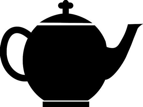 Bule De Chá Black · Gráfico Vetorial Grátis No Pixabay