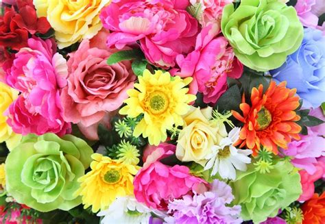 bright colorful flowers jigsaw puzzle  puzzle   day