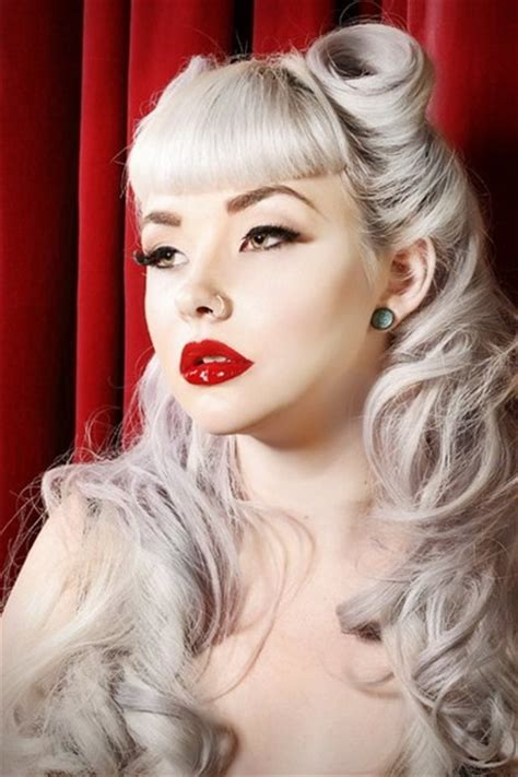 15 Pin up hairstyles easy to make yve style com