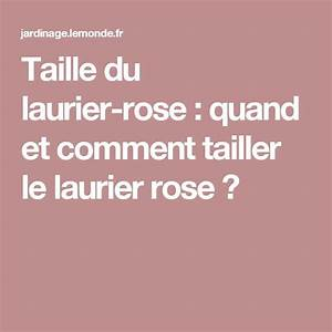 Tailler Un Laurier Rose : 11 best arbres et arbustes images on pinterest shrubs ~ Melissatoandfro.com Idées de Décoration