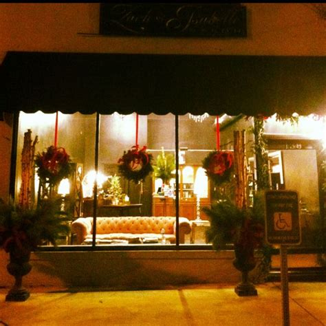 zachisabelle salon decorated  christmas favorite