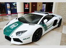 Dubai police officially the worlds fastest Dubai, Abu