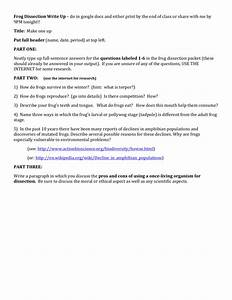 Worksheet  Frog Dissection Worksheet Answers  Grass Fedjp