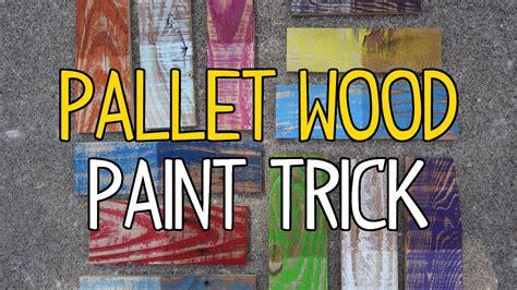 Chalkboard Kitchen Wall Ideas - diy pallet wood paint trick youtube