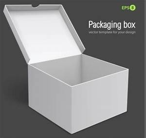 Free 3D White Packaging Box Vector Template - TitanUI