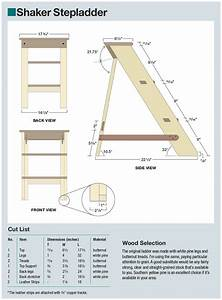 The Shaker Stepladder  An Ideal Intro To The Shaker Style
