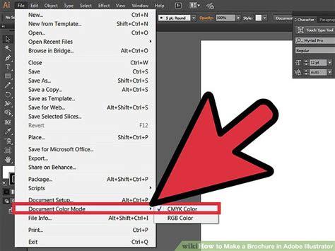 How to Make a Brochure in Adobe Illustrator: 10 Steps