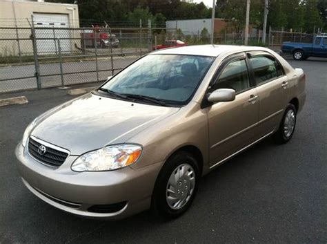 2005 Toyota Corolla Le by Find Used 2005 Toyota Corolla Le Sedan 4 Door 1 8l In Bay