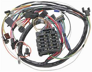 Wiring Harness  Dash  1971 Gto  Lemans  Tempest  W  O Gauges
