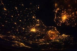 Europe at Night (NASA, International Space Station, 08/10 ...