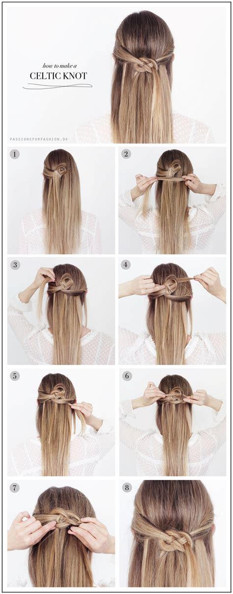 Easy Summer Hairstyle DIY   Celtic Knot Hair Tutorial