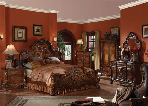 Acme Dining Room Set by Sale 4816 00 Dresden 5 Pc Traditional Bedroom Set