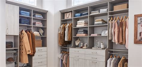 wood closet storage products closetmaid professional