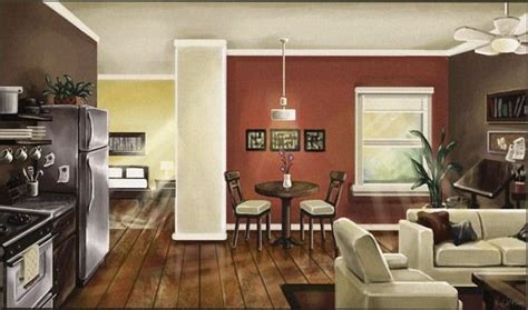 Kitchen And Living Room Color Schemes by Paint Colors For Open Floor Plan House Choosing A Color
