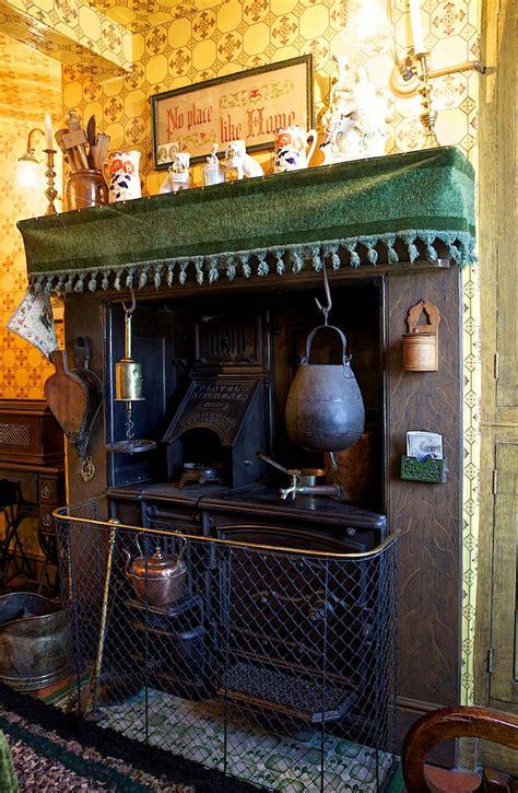 victorian flavels kitchen range  victorian