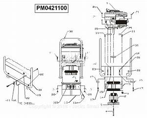 Powermate Formerly Coleman Pm0421100 Parts Diagram For