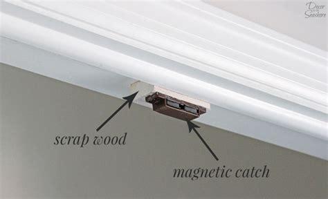 Magnetic Closet Door by How To Turn A Bi Fold Door Into Doors Diy Closet