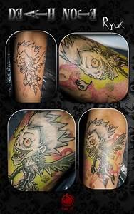 Shinigami Ryuk Tattoo by dark-a-crystal on DeviantArt