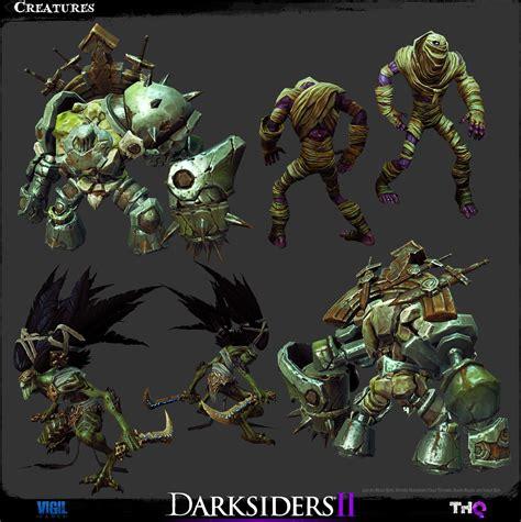 The Art Of Darksiders Ii Kotaku Australia
