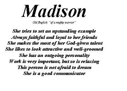 What Does Decor Mean by Madison Name Design Custom Picture Frames 1 Girls Room