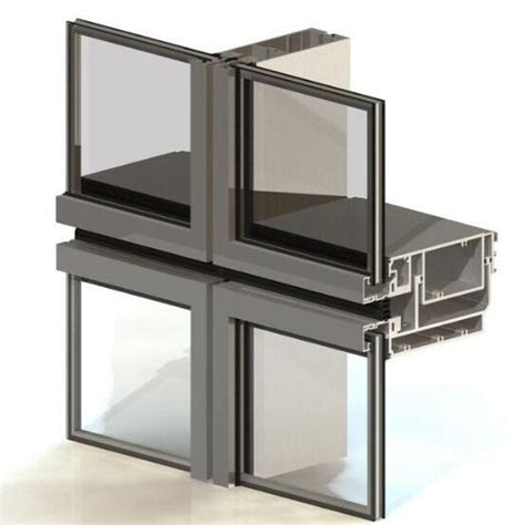 Unitized Curtain Wall Manufacturers by Curtain Wall Window Wall Aoland Aluminium Glass China