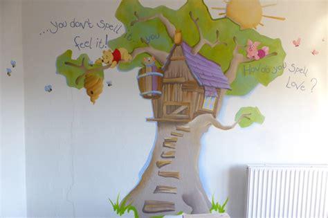 gordijnen kinderkamer winnie the pooh nanning 4 wall ede gelderland kunstenaar