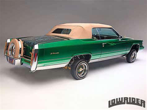 Lowrider Cadillac by 1980 Cadillac Le Cabriolet Lowrider Magazine