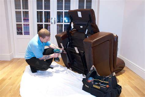 recliner repair service homeserve furniture repairs