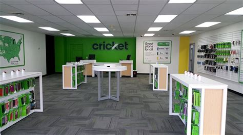 cricket cell phone accessories store interior