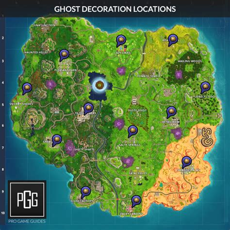fortnitemares ghost decoration locations pro game guides