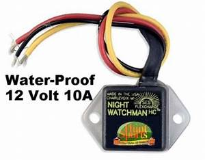 12 Volt Waterproof Dusk Dawn Hoglight Automatic Photocell