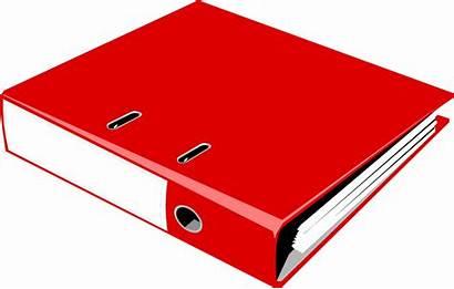 Binder Notebook Clipart Clip Ring Illustration Transparent