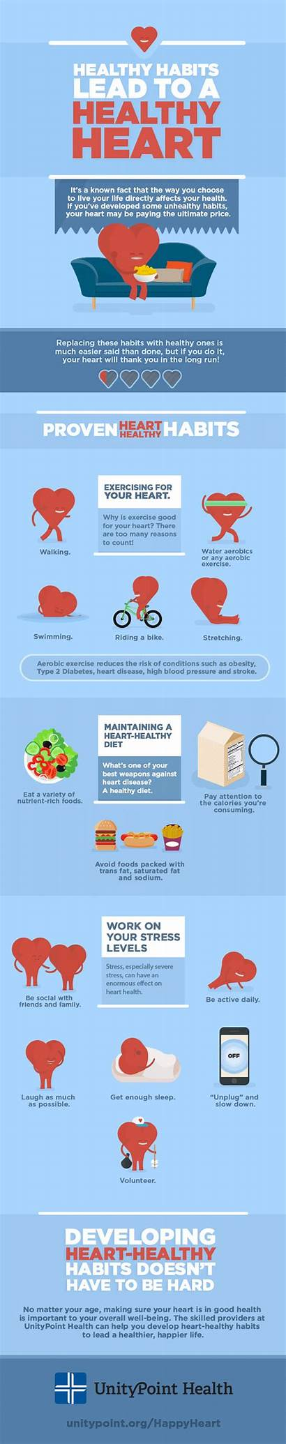Heart Healthy Habits Health Disease Prevent